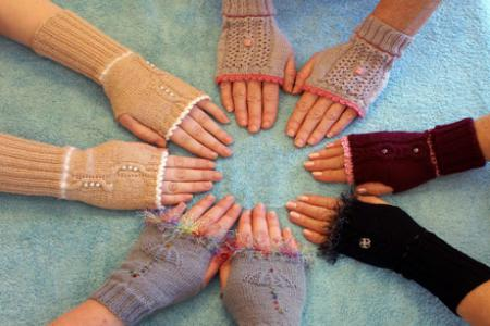 Circle of gloves